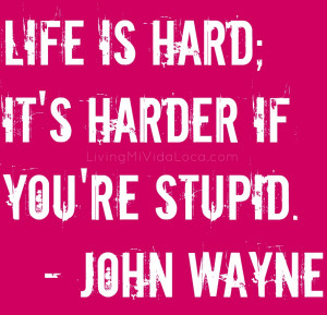 My favorite #quote (*hint* it's by John Wayne)