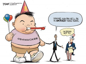 Obamacare Baby © Steve Breen,The San Diego Union Tribune,obamacare ...