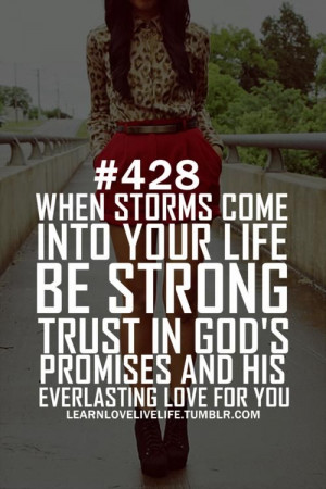 Christian Quotes About Storms