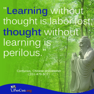 ... critical thinking quotes gallery learning without thought is labor