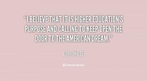 higher education inspirational quotes quotesgram
