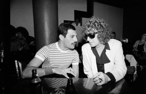Picture Gallery > Freddie Mercury > FM and Ian Hunter