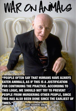 Isaac Bashevis Singer #quote