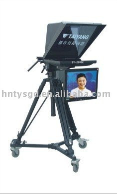 professional camera tripod LCD broadcast teleprompter