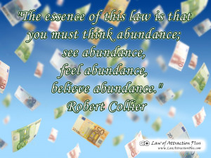 Free Law of Attraction Wallpaper with Quote by Robert Collier about ...