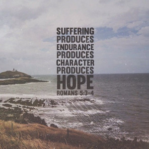 Romans 5:3-4: Character Produce, Endurance Produce, God And Suffering ...