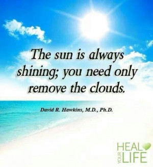remove the clouds.