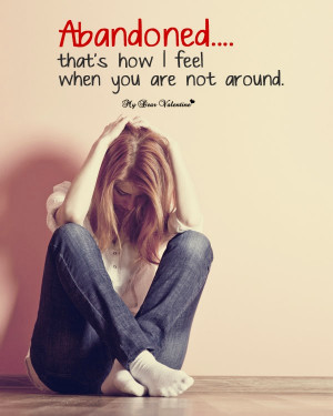He broke up with me and left me sad love picture quotes. Emotions of a ...