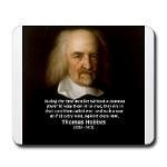Thomas Hobbes: War Quote from 'Leviathan'