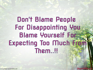 Disappointed Quotes About Family Disappointed quotes about