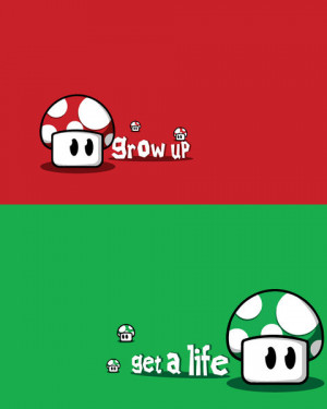 Funny photos funny Mario mushrooms red green