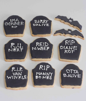 Funny Halloween Sayings And Phrases Halloween sugar cookies