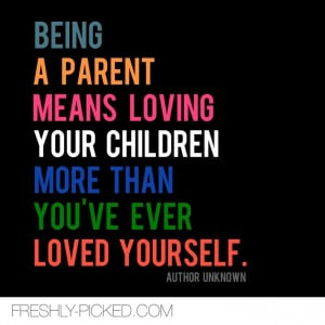 Being a parent #motherhood #parenthood #quote