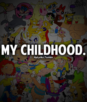 90s, cartoons, childhood, quotes, text