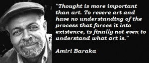 Amiri Baraka 1934-2014Influential and controversial writer dies ...