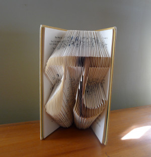 Best Math Teacher Quotes Pi - folded book art - math