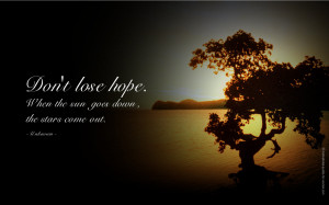 Hope (feeling) Inspirational Quotes
