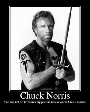 Trivium - Chuck Norris fan #1