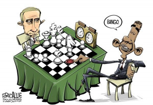 Putin Vs Obama September 11, 2013 by Cagle Cartoons