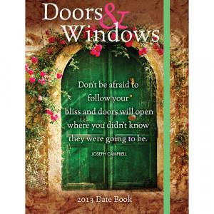 Home > Obsolete >Doors & Windows 2013 Hardcover Engagement Calendar