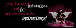 Mistakes Happen Facebook Cover