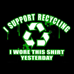 Funny Recycling Quotes