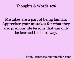 ... Are, Precious Life Lessons That Can Only Be Learned The Hard Way