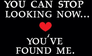 you've found me.