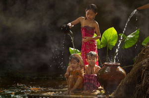 Indonesian people are very diverse and humble, they are very happy ...