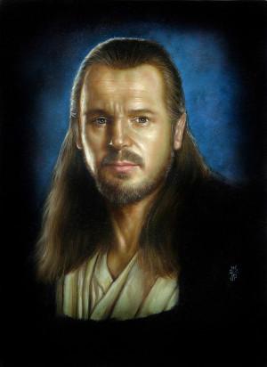 Qui Gon Jinn Painting...