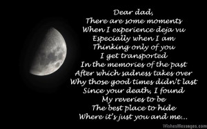Miss You Poems for Dad after Death: Missing You Poems to Remember a ...