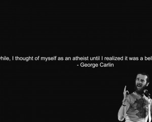 Text quotes men atheism george carlin wallpaper