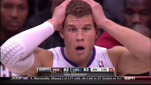 Blake Griffin is shocked