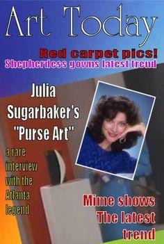 Designing Women meme Julia purse art