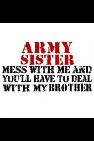 Army sister!