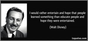 walt disney education quotes