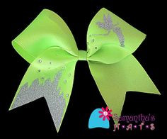 ... Cheerleading Bows Disney, Disney Cheer Bows, Disney Bow, Cheer Bows