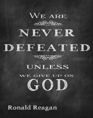 Quotes About Feeling Defeated