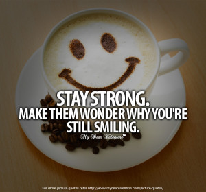 Stay Strong Quote Via Carols Country Sunshine On Facebook Picture