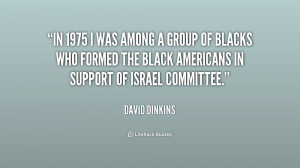 In 1975 I was among a group of blacks who formed the Black Americans ...