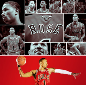 Tagged: derrick rose mvp basketball athletes chicago bulls chicago ...