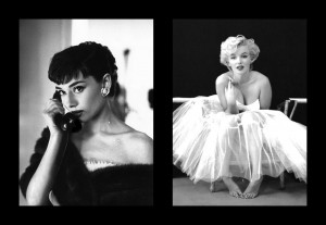 Displaying 18> Images For - Audrey Hepburn Marilyn Monroe...