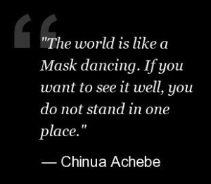Chinua Achebe Things Fall Apart Quotes