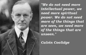 Calvin coolidge famous quotes 4