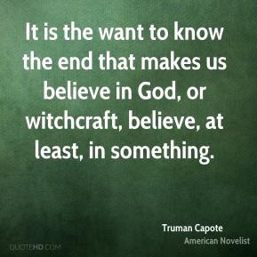Witchcraft Quotes
