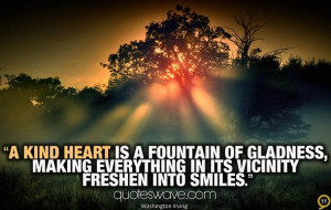 ... of gladness, making everything in its vicinity freshen into smiles