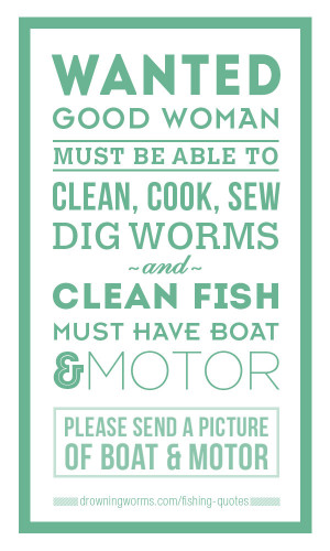 Wanted – Fishing Quote