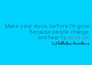 heart, love, move on, quotes