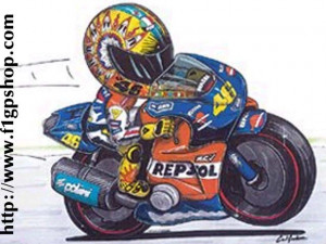 Valentino Rossi Moon And