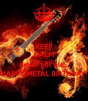 Metal Birthday